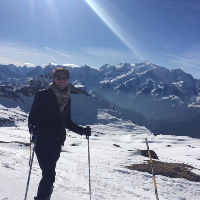 Une semaine fabuleuse en face du Mont-blanc!