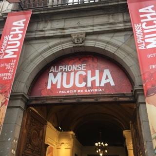 EL PALACIO DE GAVIRIA: EXPO ALPHONSE MUCHA JUSQU'AU 25/02/18.
