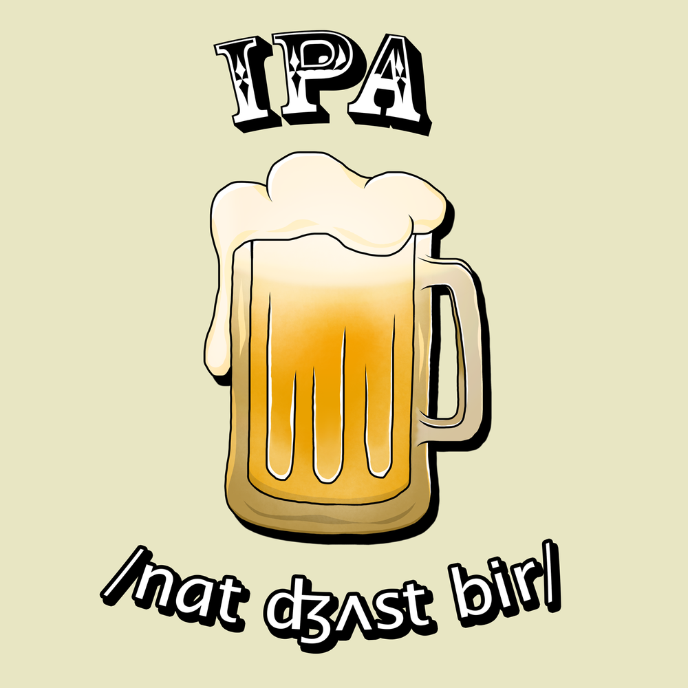Not just beer in IPA - A great SLP t-shirt for St. Patrick's Day!