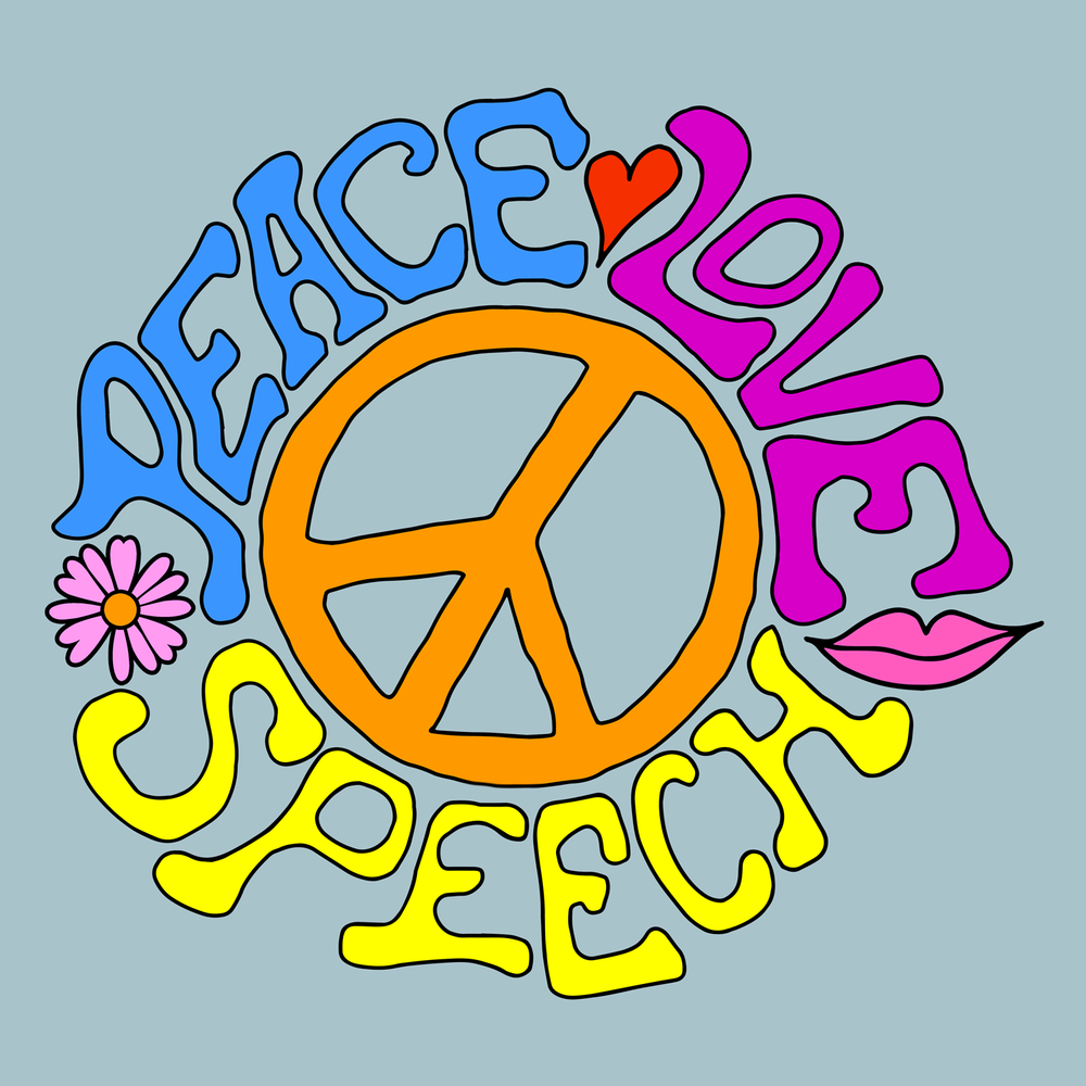 Peace Love Speech! Perfect for a gift for your SLP.