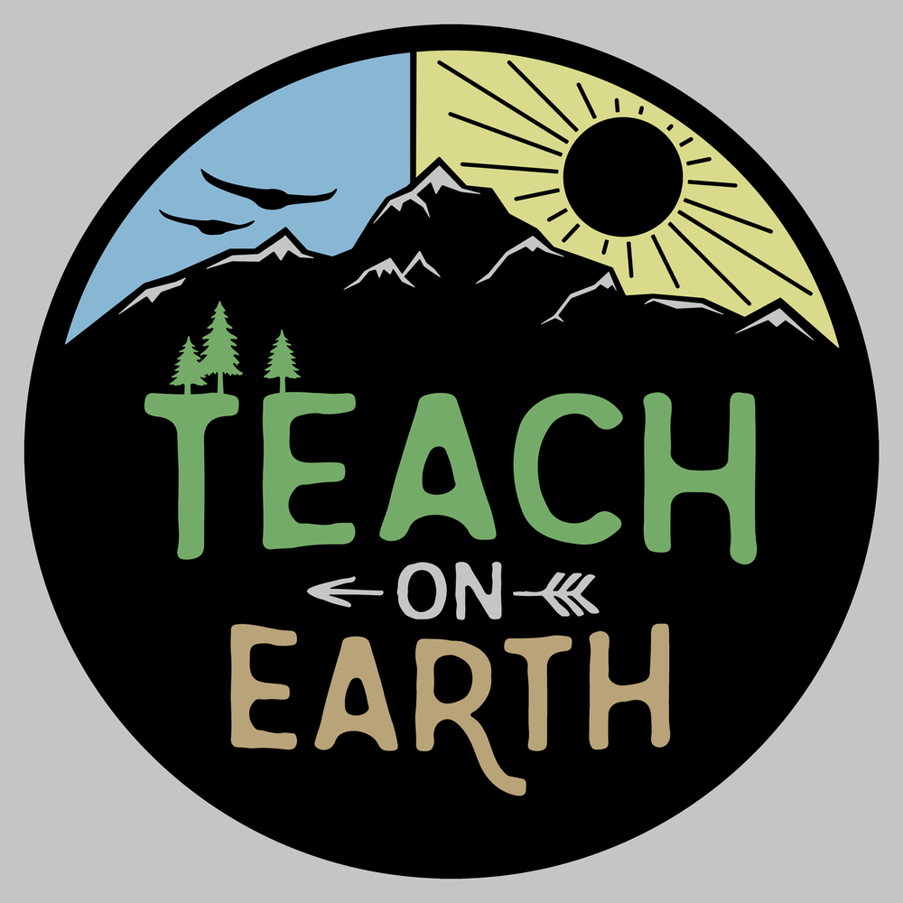 Teach on Earth. Peace on Earth for teachers/ professors. This is great for Earth Day or any day! It will look great on your new favorite comfortable teacher shirt and more!