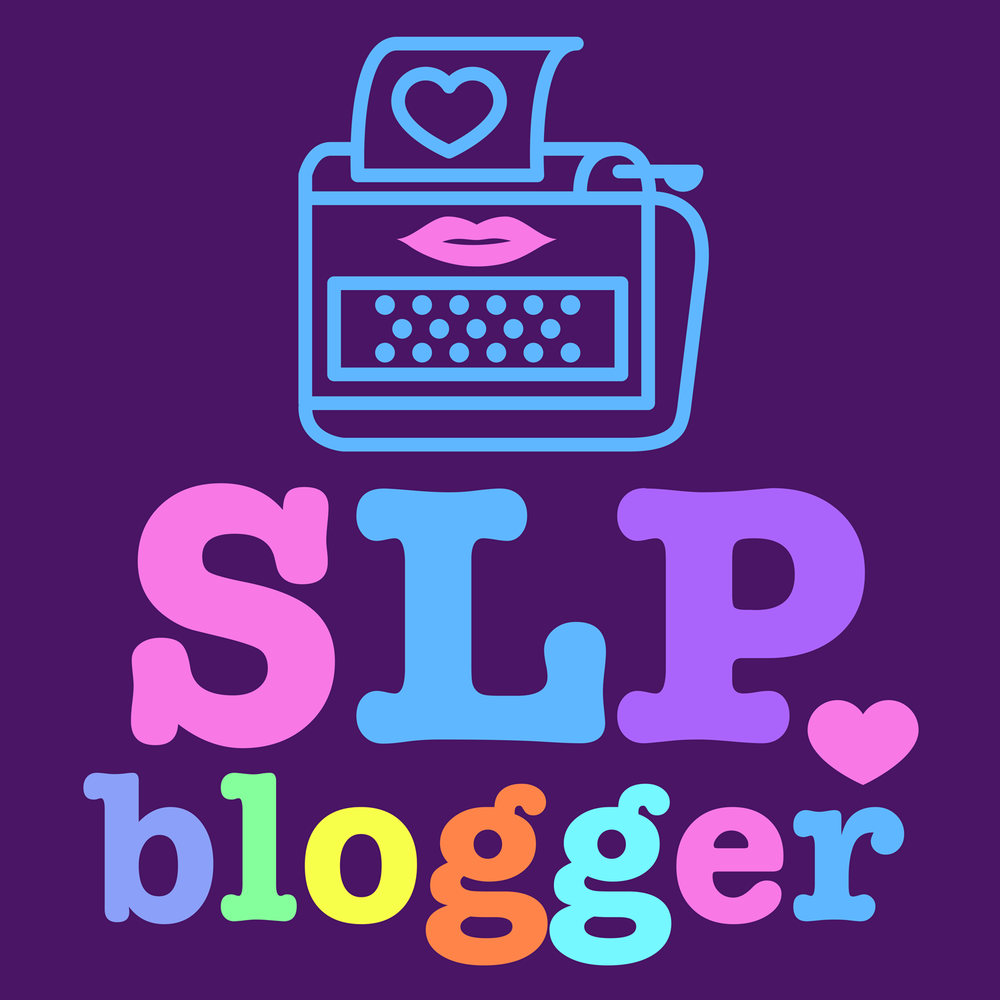 SLP Blogger.  Shirts, hoodies, mugs for SLP bloggers.