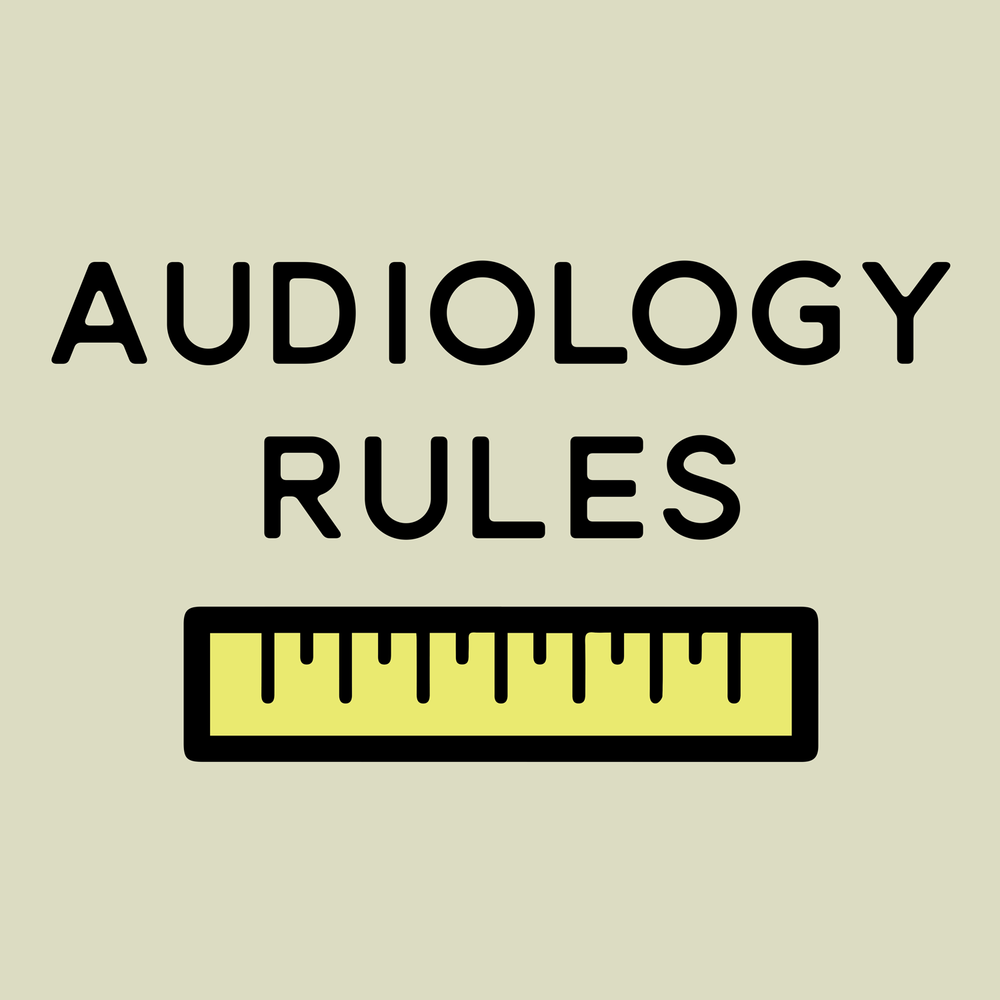 Audiology Rules. Puns Rule. This looks great on shirts, hoodies, mugs, totes, and more!