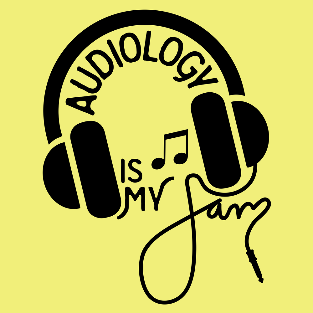 Audiology is my jam. What's yours? This is a creative design that will look good on your new audiology shirts!
