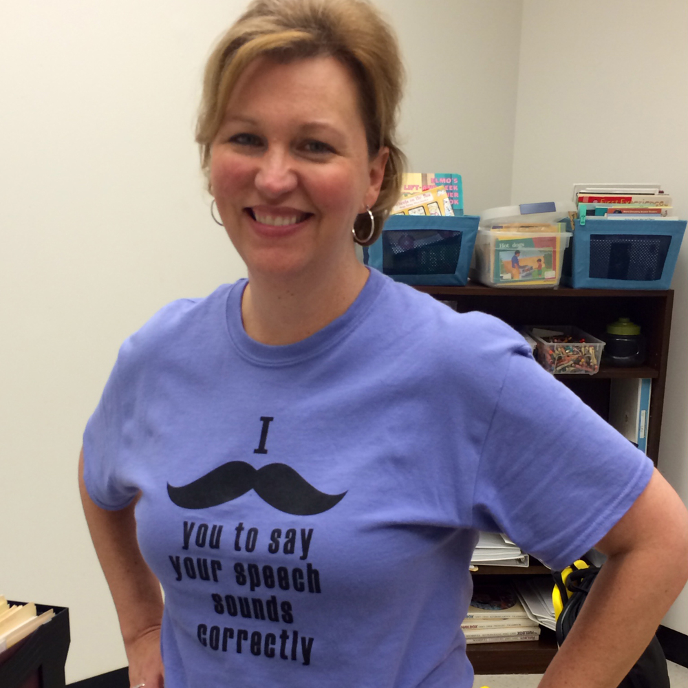 "Heidi in ""Mustache"" Smart Mouth Blog"