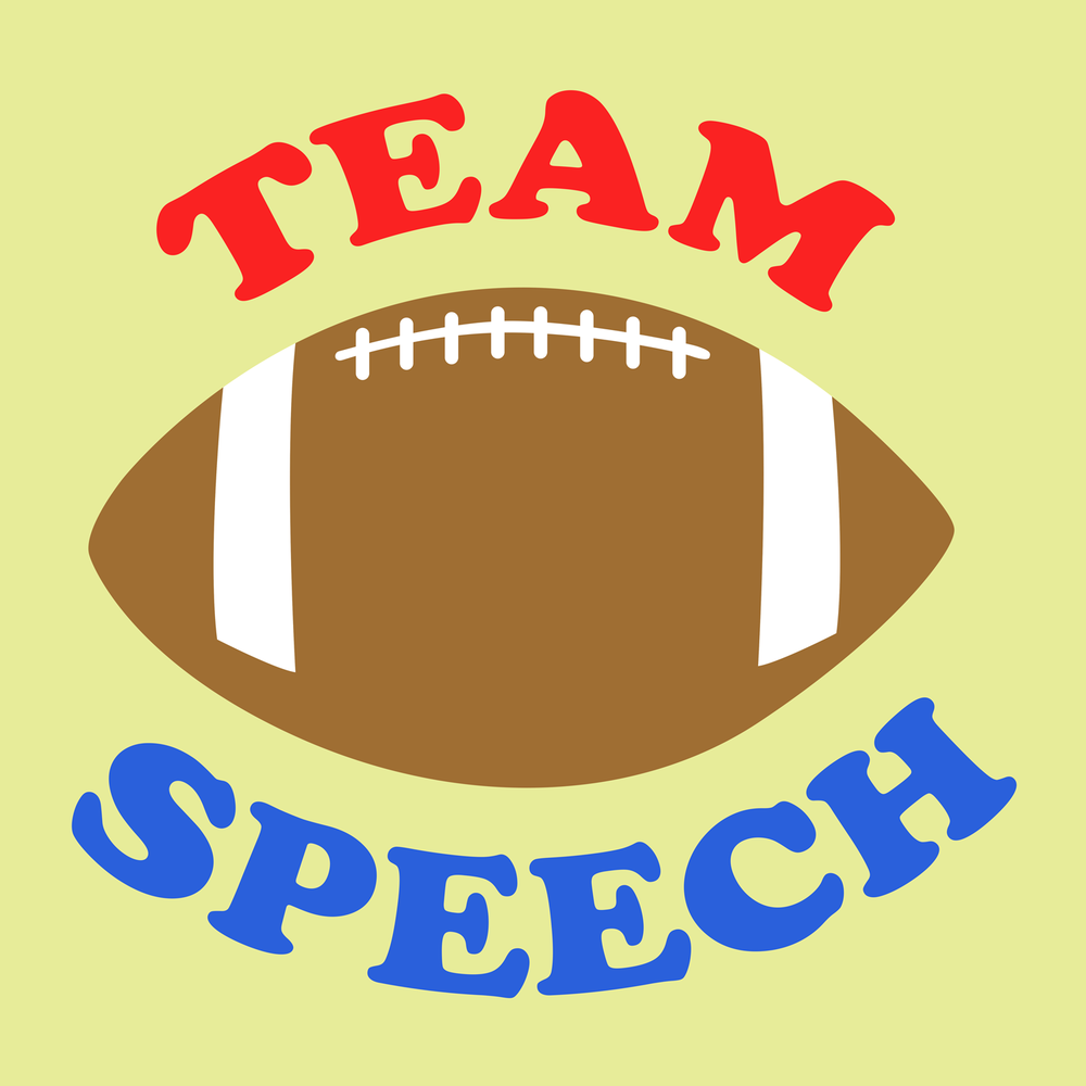 Show your support for the speech team! Speech therapy swag for your favorite SLP!