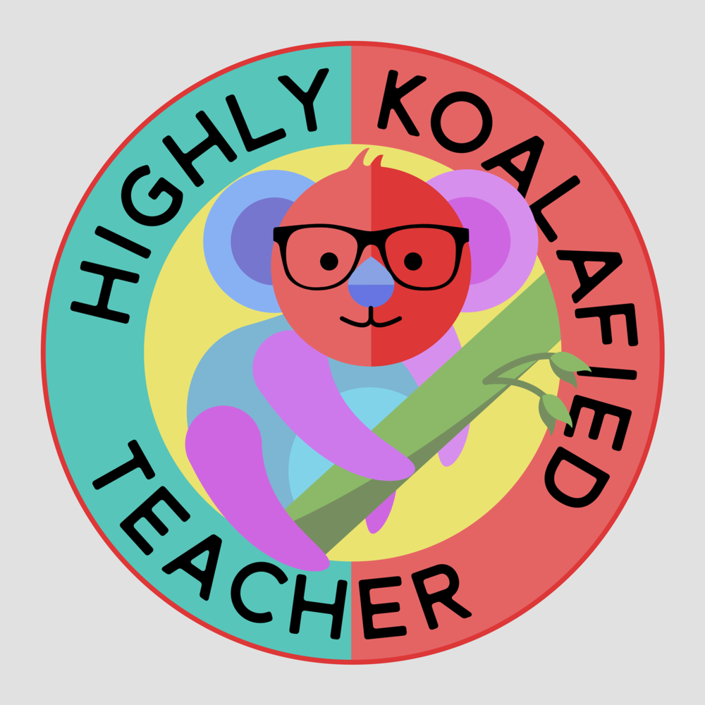 Highly koalafied teacher, at your service. A great gift for your favorite teacher.