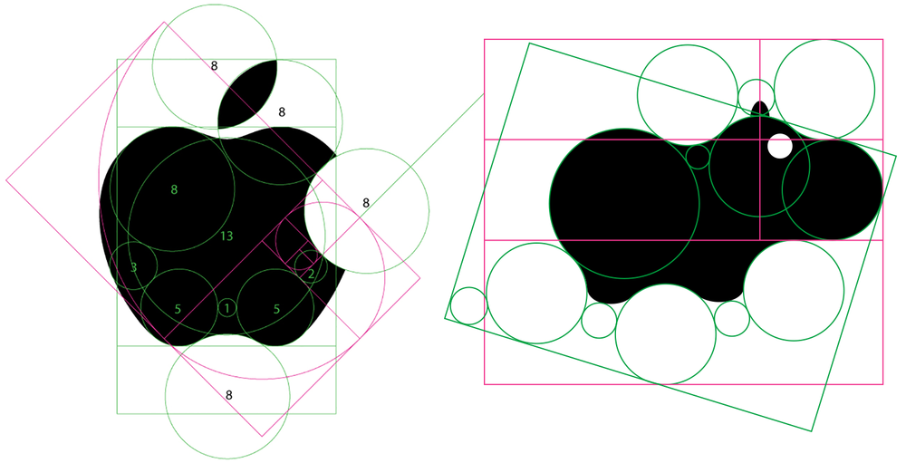 Apple Logo and Speechopotamus Logo
