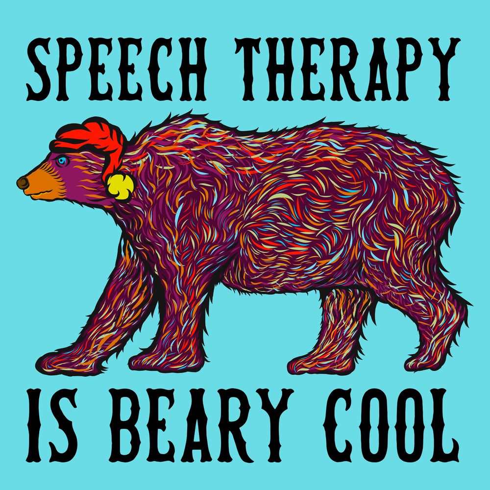 Speech Therapy is beary cool! Perfect for slp winter wear.