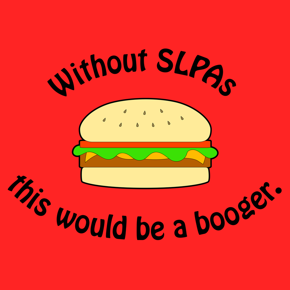 SLPA version of the Burger shirt.