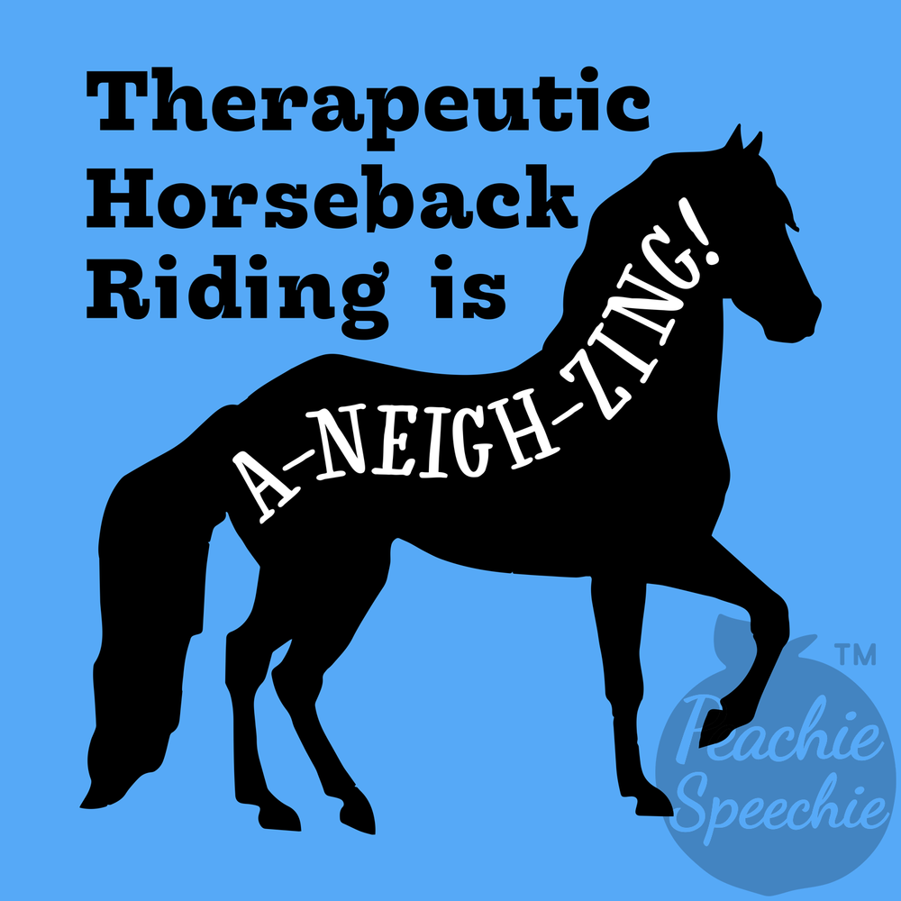 Horseback therapy