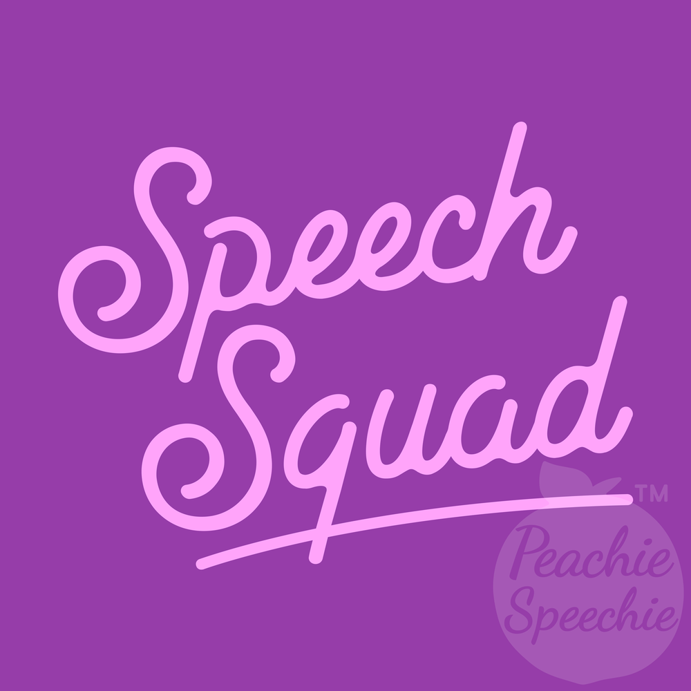 Get your Speech Squad uniform! #squadgoals