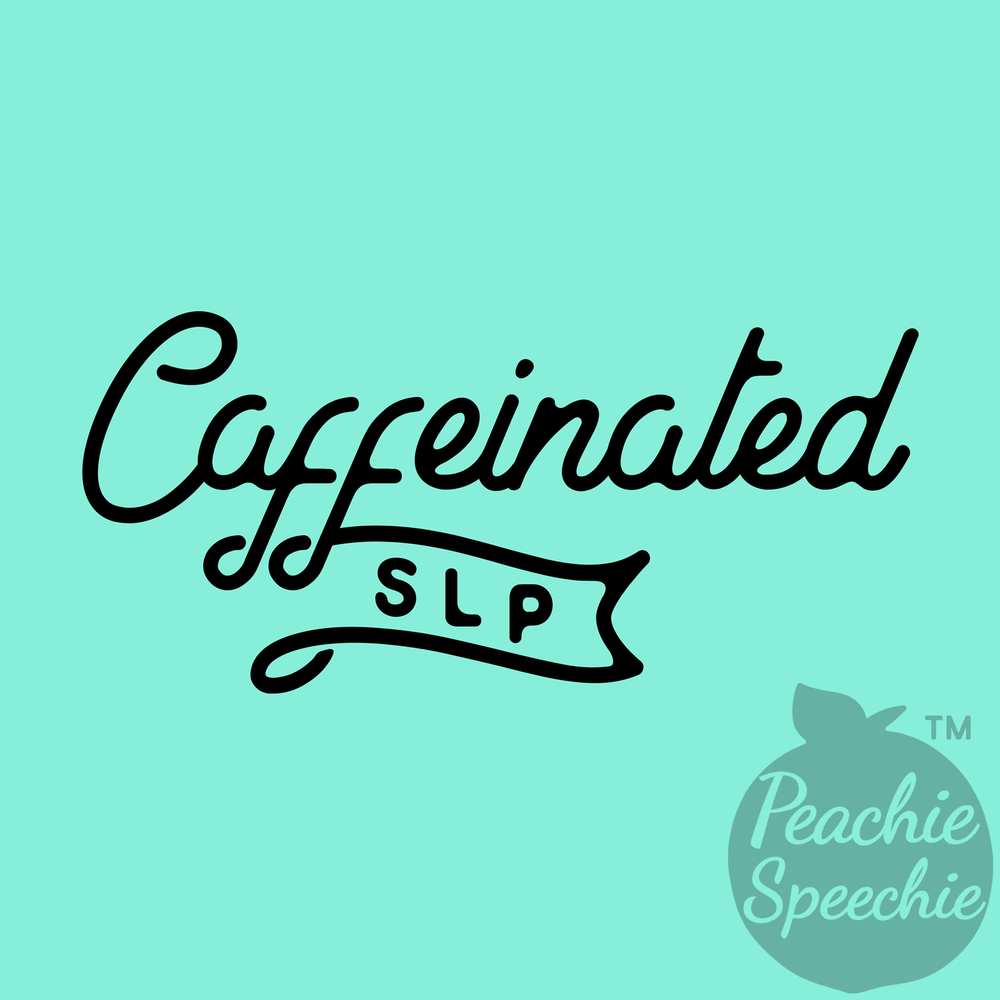 Stay caffeinated and fashionable with this Peachie Speechie shirt!