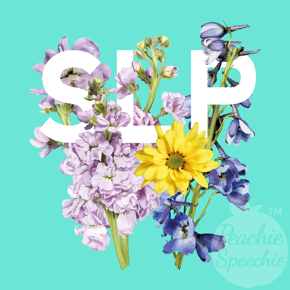 An SLP bouquet for your favorite SLP!
