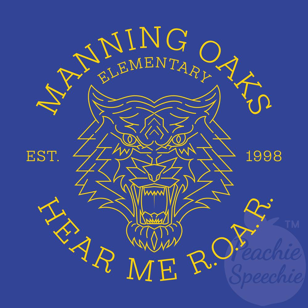 Manning Oaks Elementary school spirit wear