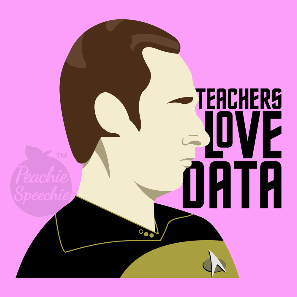 Teachers love Data! (and Star Trek!) Click here to see some awesome teacher Star Trek apparel and accessories!