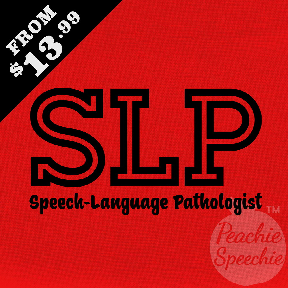 SLP - Speech-Language Pathologist. From only $13.99!