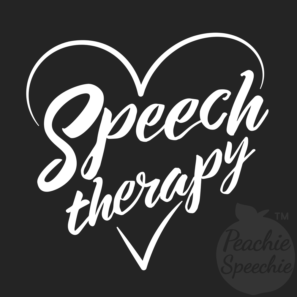 You will love this as much as you love speech therapy!
