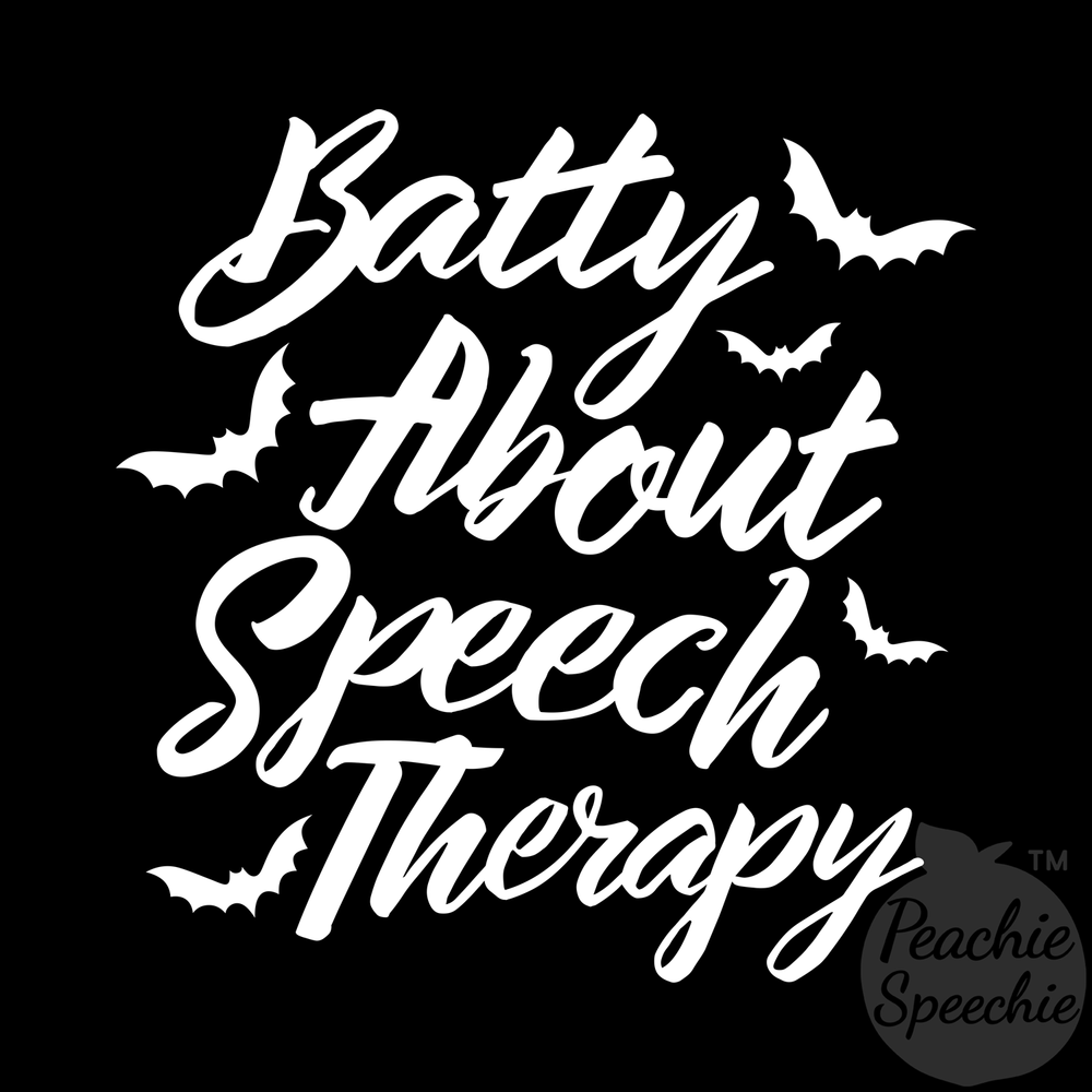 Batty about speech therapy!