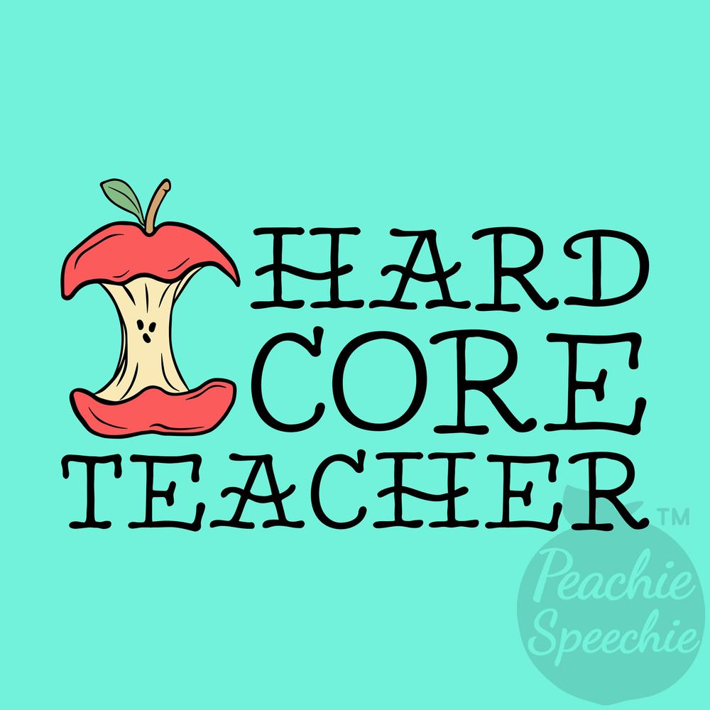 Hard core teacher!