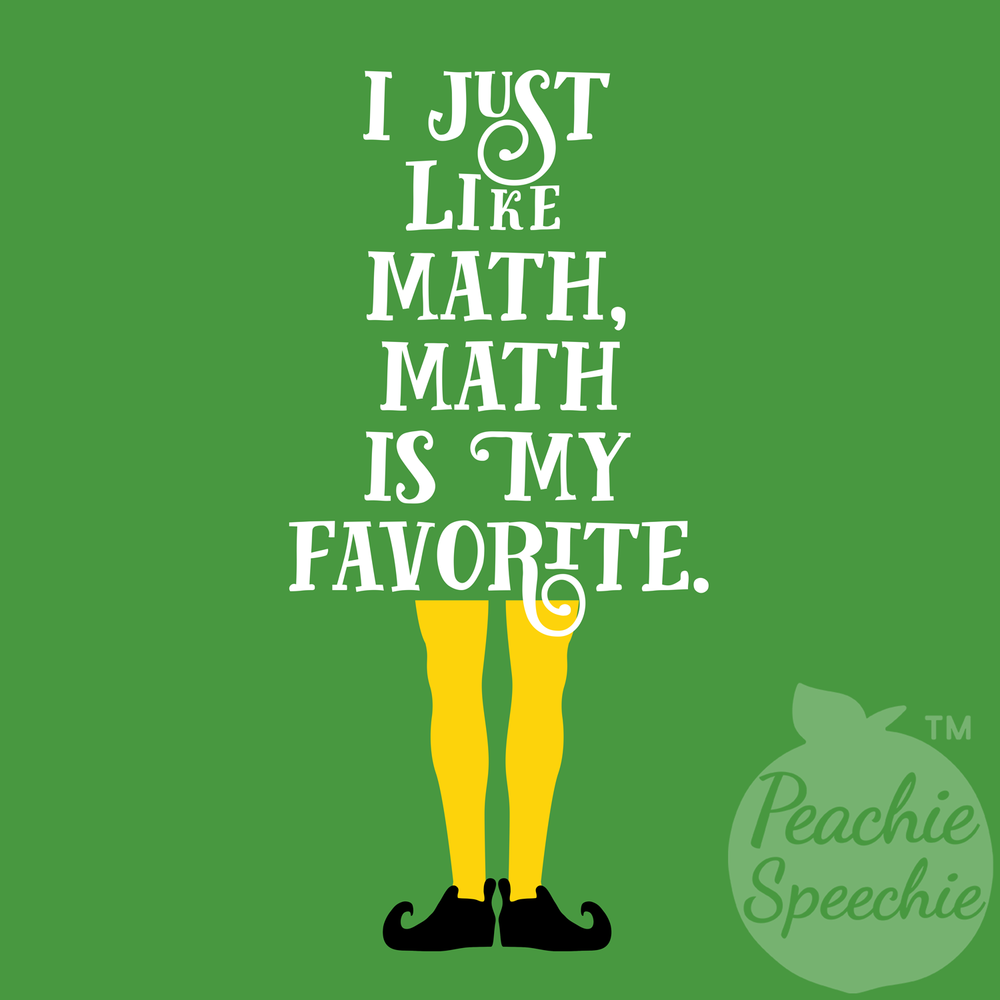 I just like math, math is my favorite.