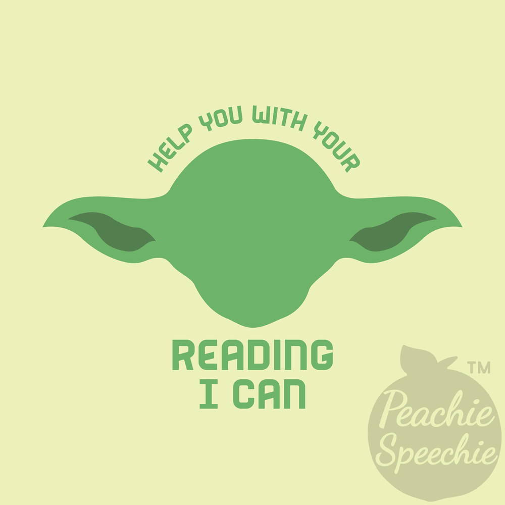 Help you with your reading I can!