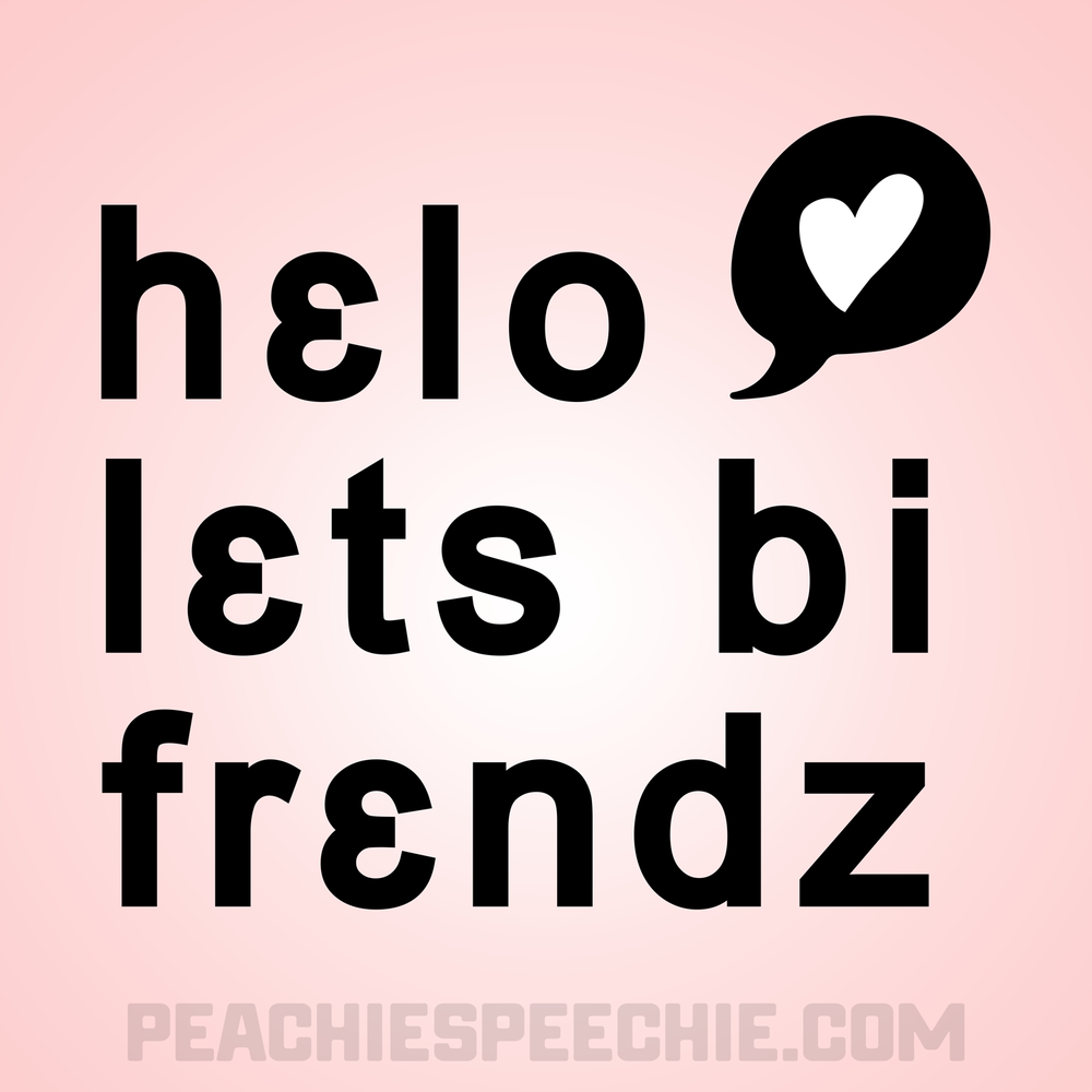 Hello, let's be friends! in IPA - Get your new favorite phonetic shirt from peachiespeechie.com