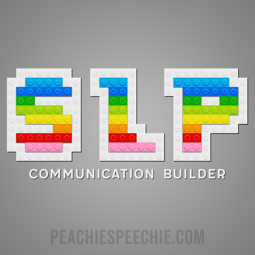 SLP Blocks! Almost as fun as speech therapy! See more at peachiespeechie.com