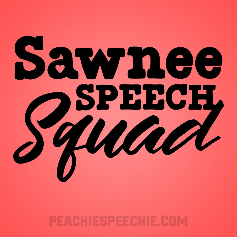 Sawnee Speech Squad by Peachie Speechie