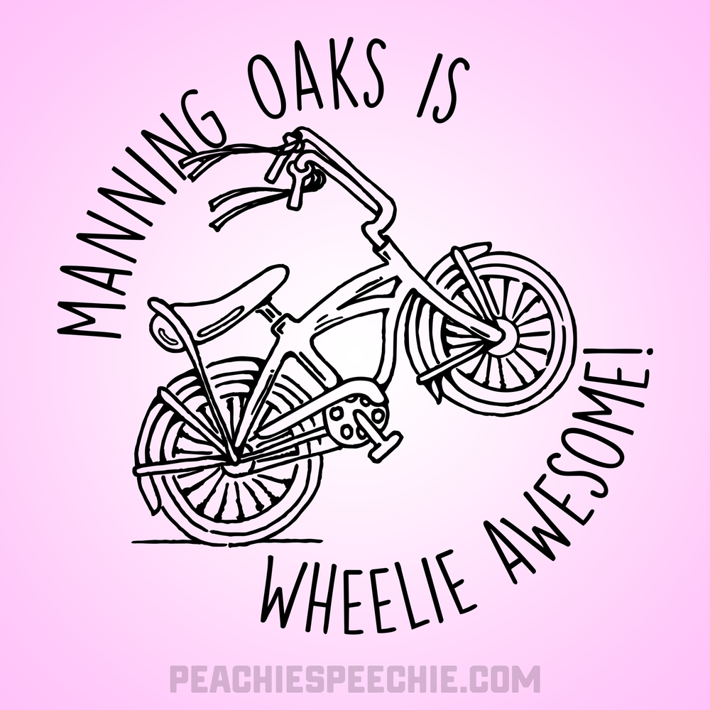 Manning Oaks is Wheelie Awesome by Peachie Speechie