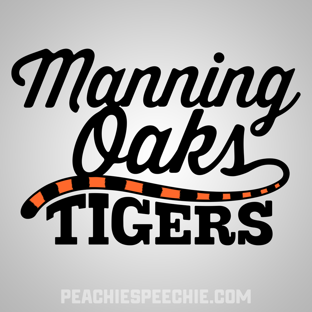 Manning Oaks Tigers by Peachie Speechie