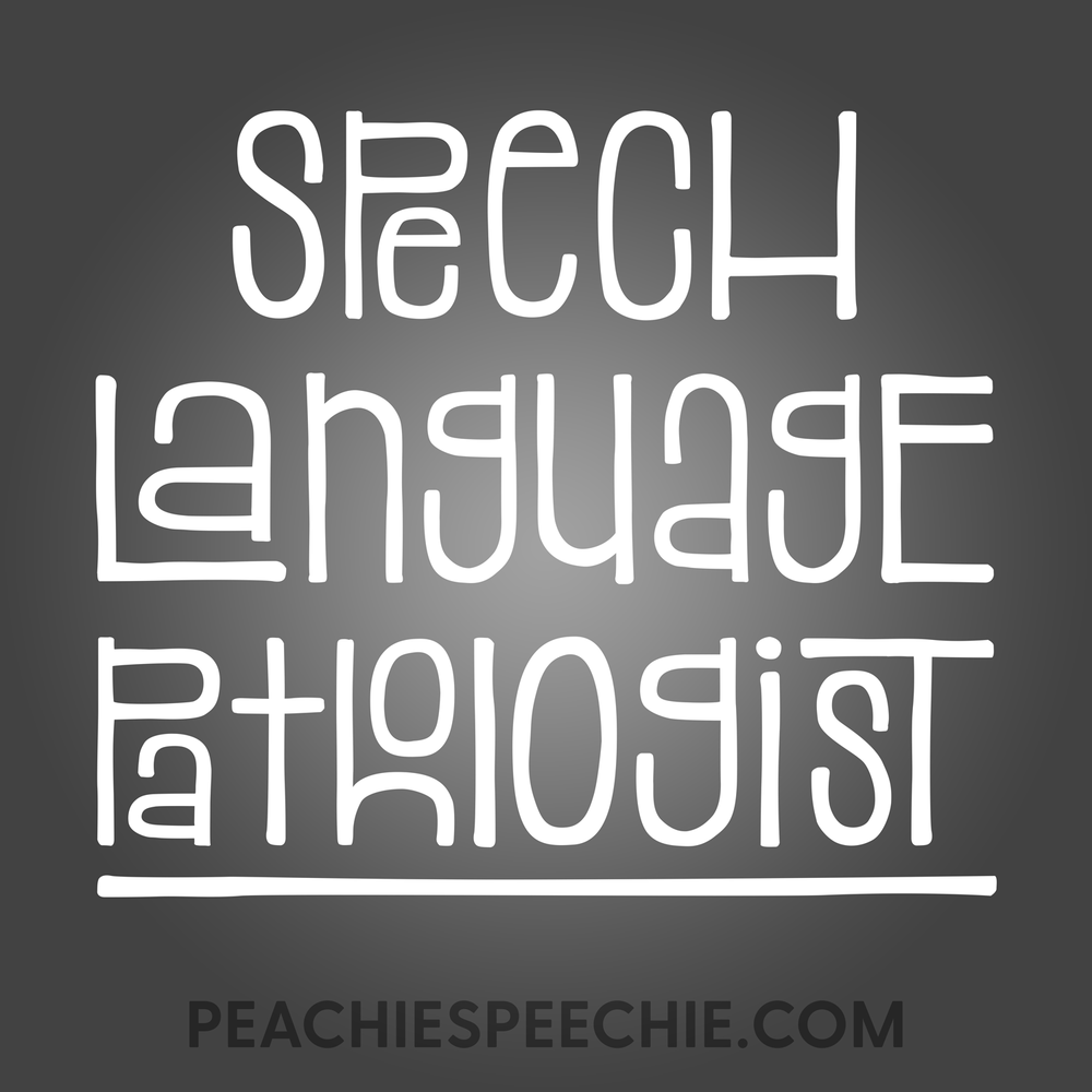 Fun Type SLP by Peachie Speechie