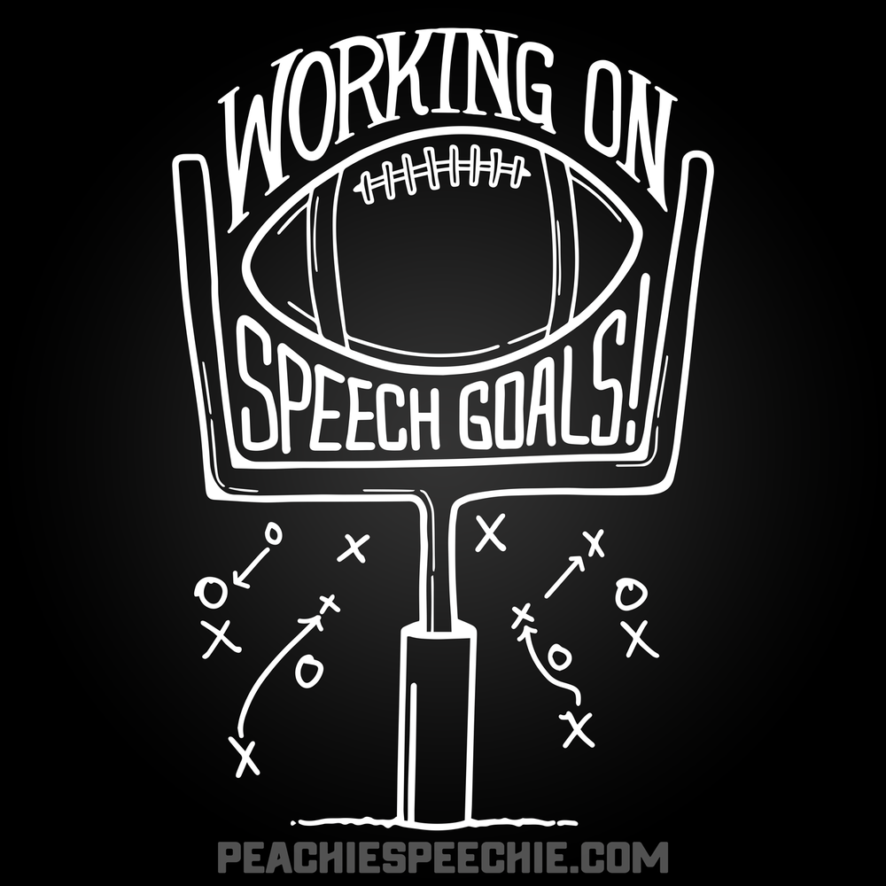 Speech therapy goals! See more at peachiespeechie.com
