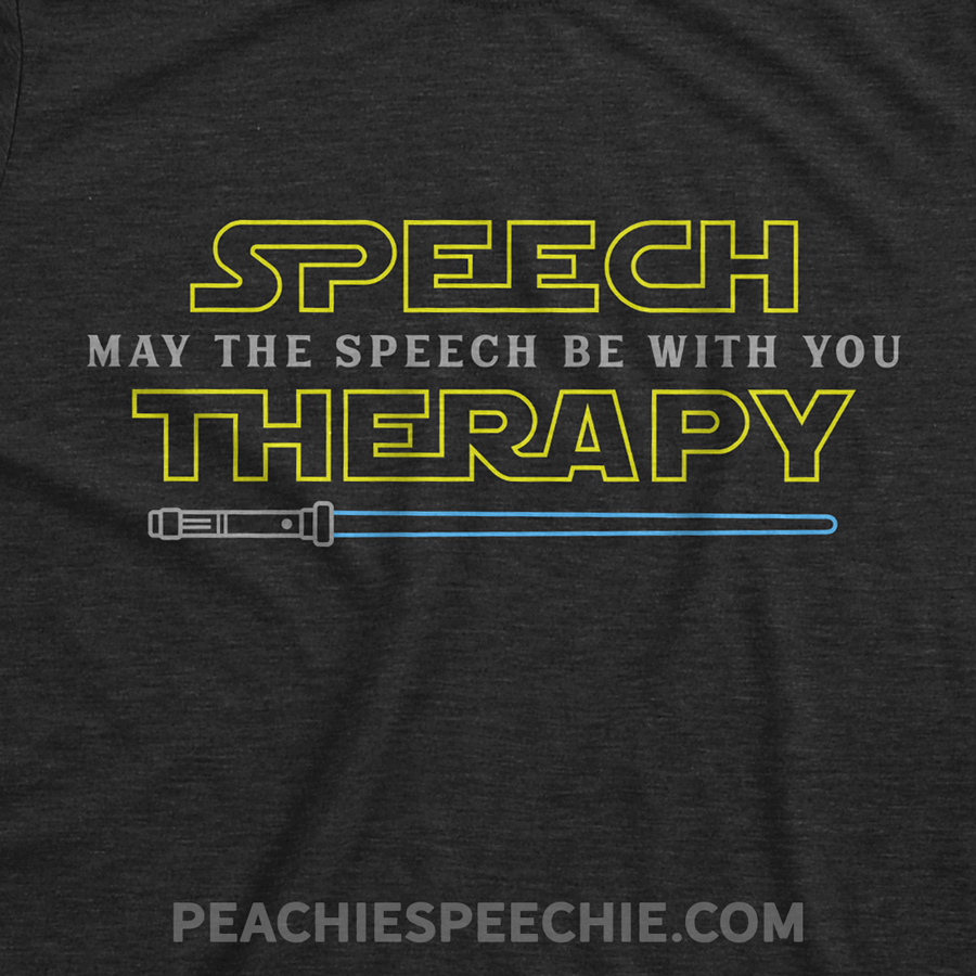 May the speech be with you! Perfect for Star Wars fan SLPs! See more at peachiespeechie.com