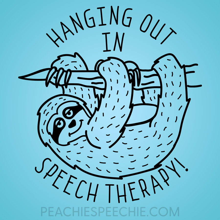 Sloth puns are just as fun as hanging out in speech therapy!
