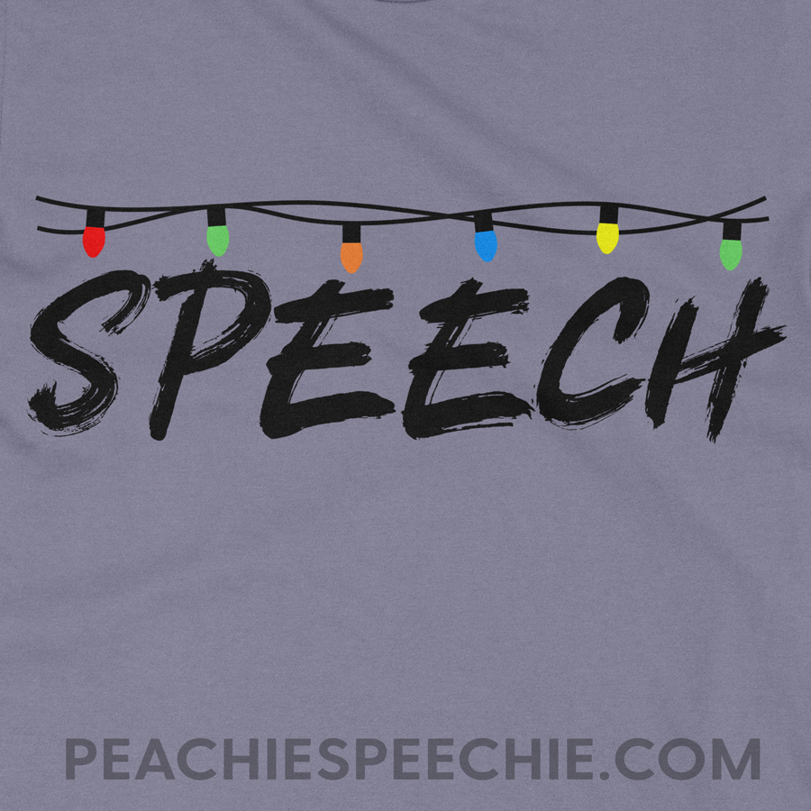 Stranger Things Speech by Peachie Speechie