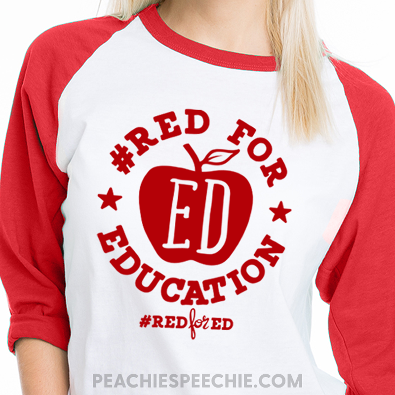 #redfored shirt for teachers! See more awesome shirts, mugs and totes at peachiespeechie.com/teacher-apparel