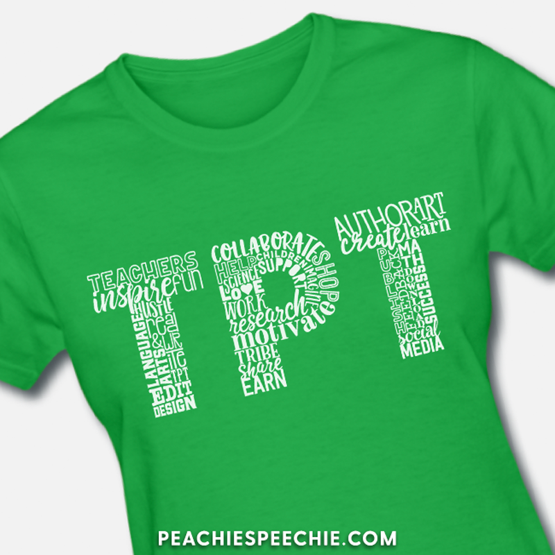 The Perfect Tee shirt by Peachie Speechie!