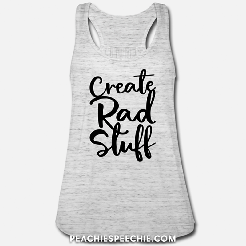 Create Rad Stuff! See more at peachiespeechie.com