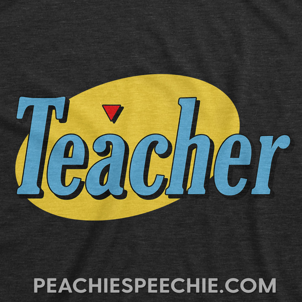 If you are a fan of comedy TV, this Peachie Speechie original is for you! Order now at peachiespeechie.com