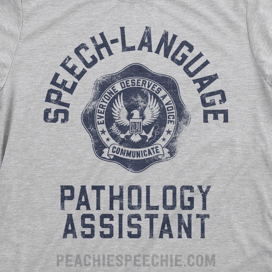 SLPA University apparel by Peachie Speechie - shirts, hoodies, mugs and more at peachiespeechie.com