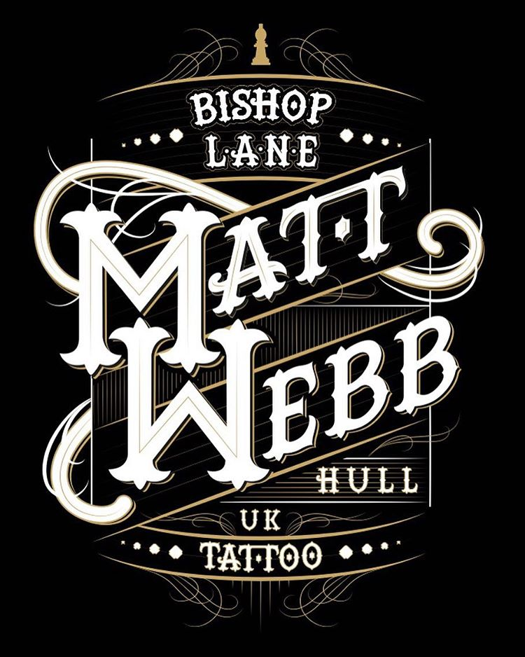 Matt Webb convention banner