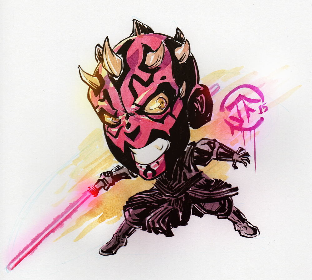 Darth Maul Chibi