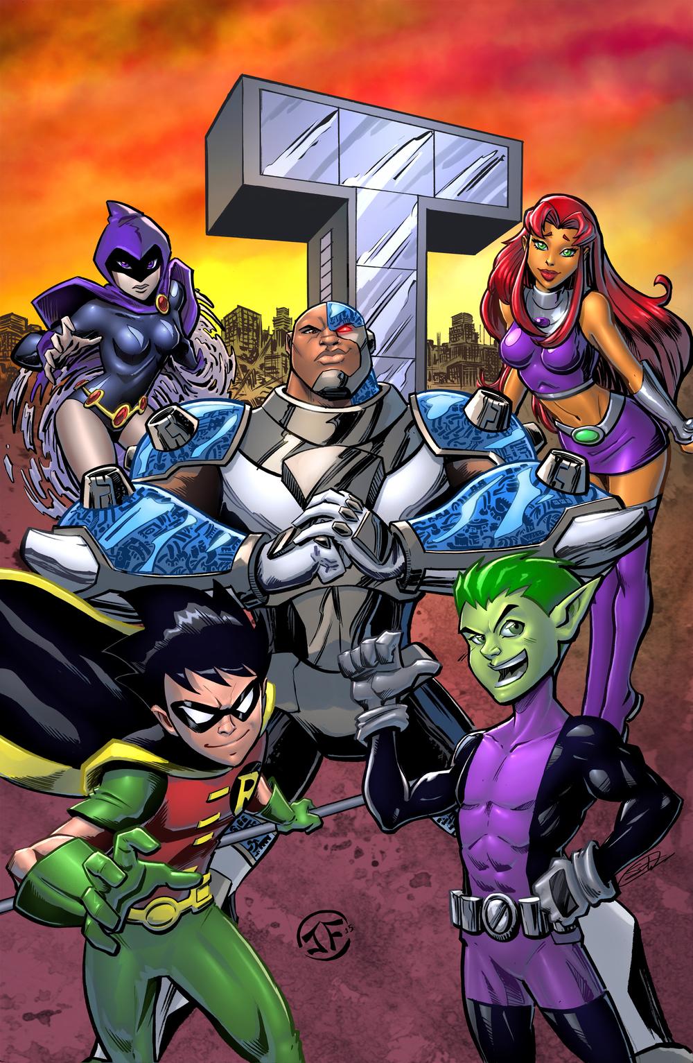 Sunset Teen Titans