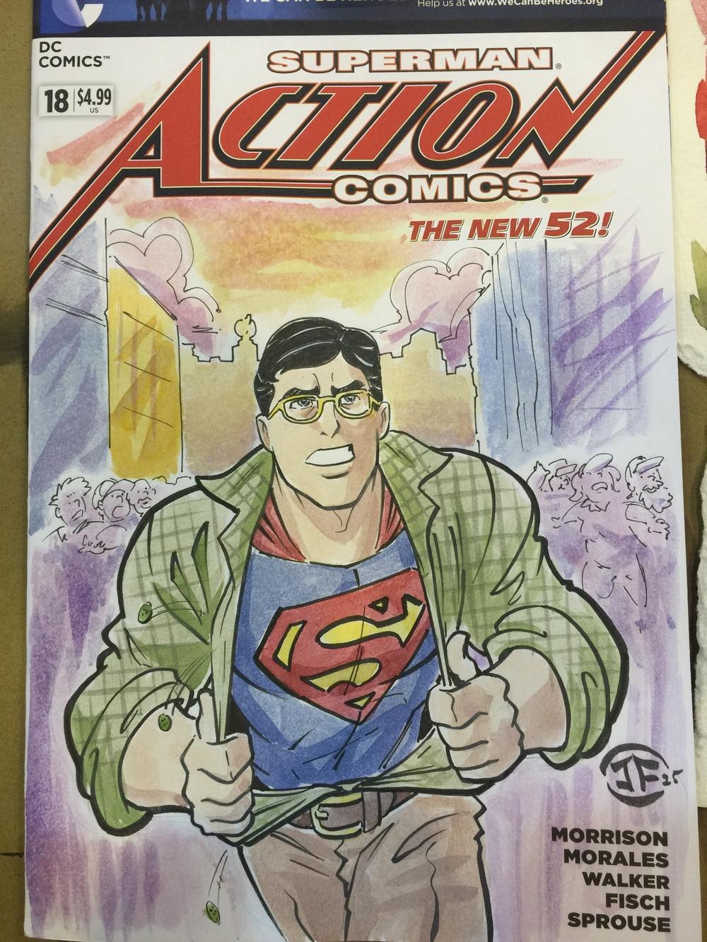 Clark Kent Disney Style