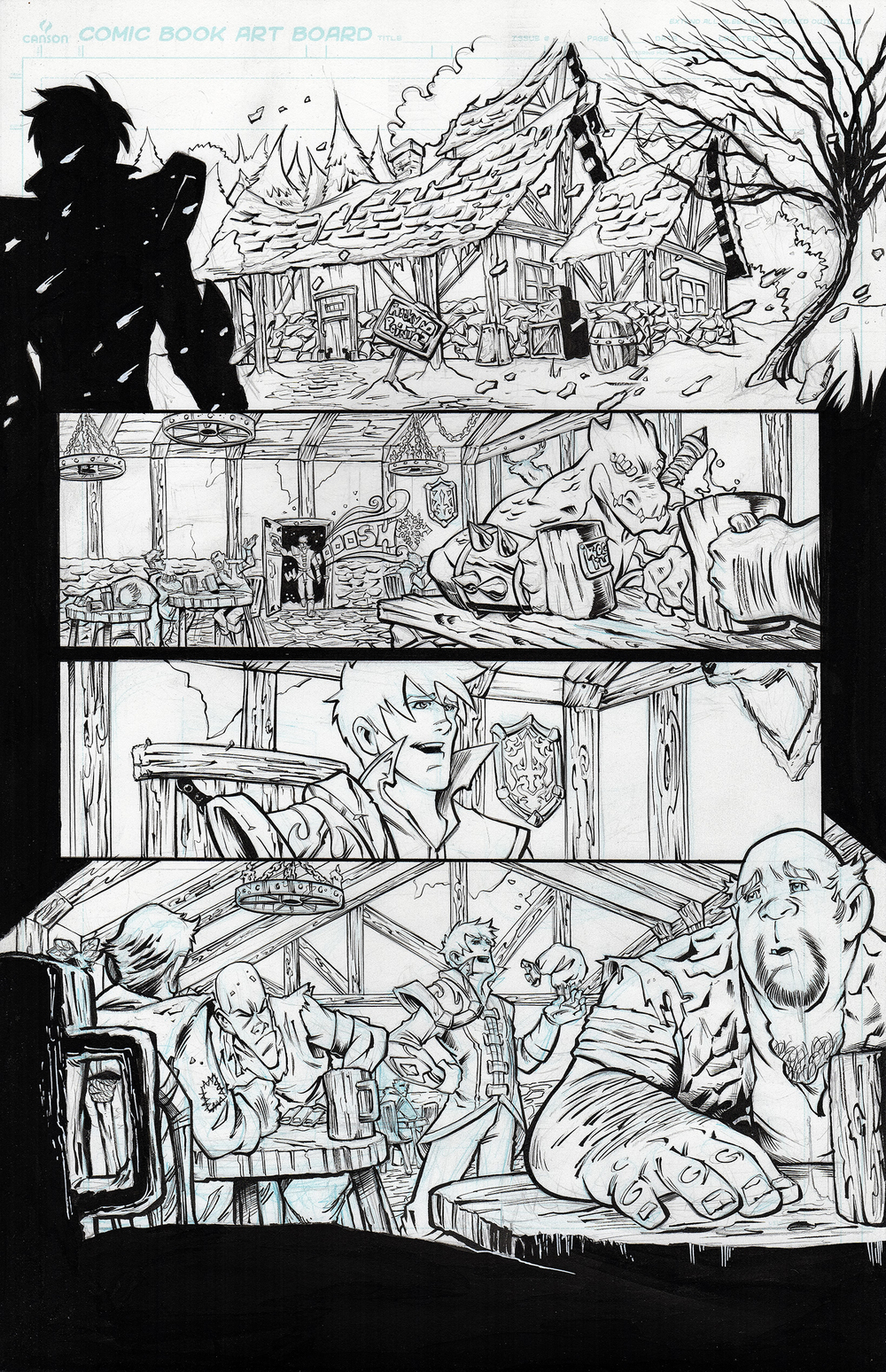 Creator owned project