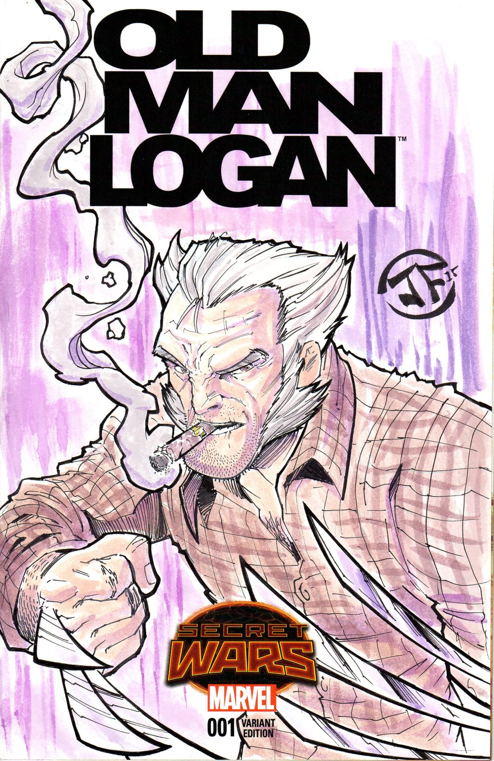 Old Logan Watercolored