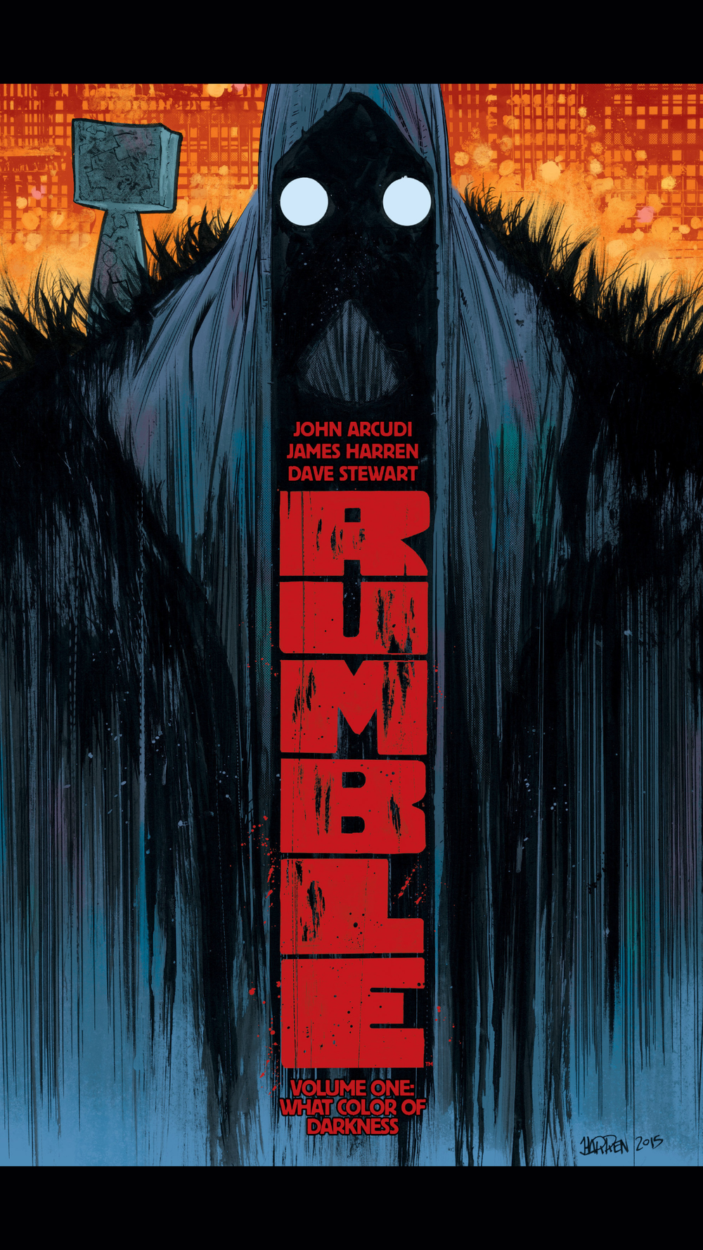 Rumble Volume 1 - available on comixology