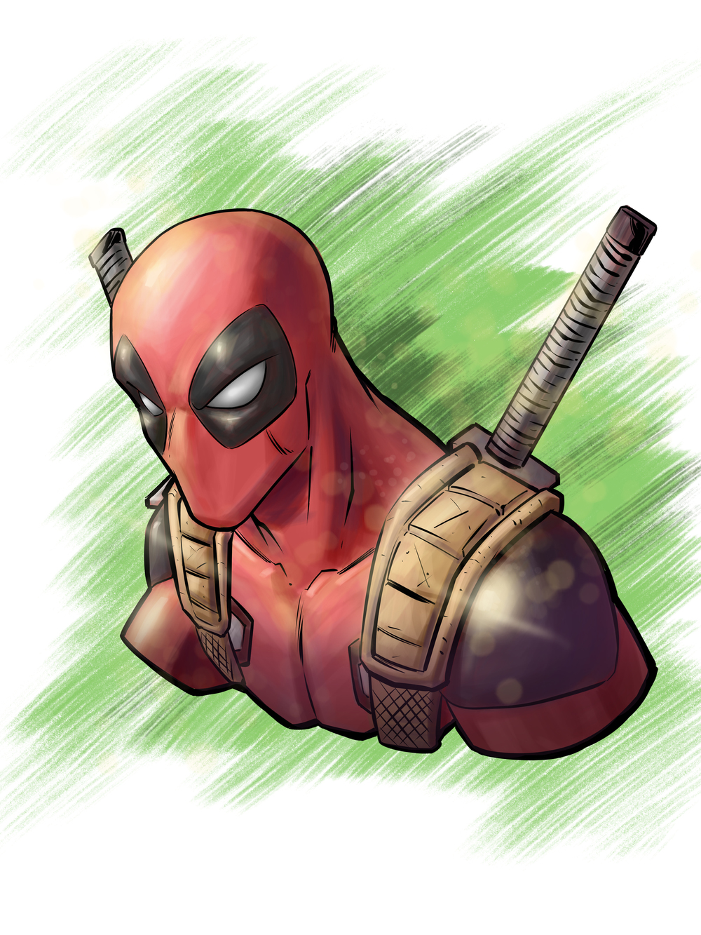 Deadpool Digital Painting