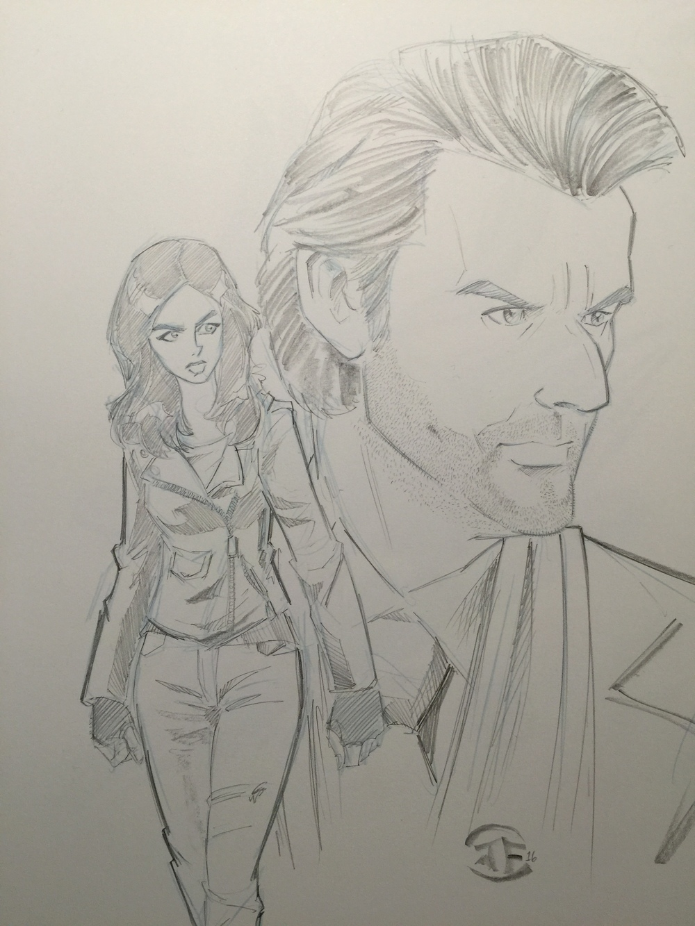 Jessica Jones and Kilgrave Commission